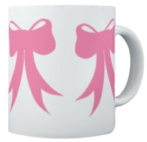 Pink Bow Mug