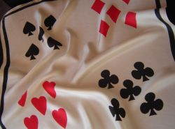 Playing Card Scarf