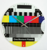 Test Card Clock