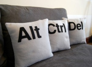 Ctrl Alt Del Cushions