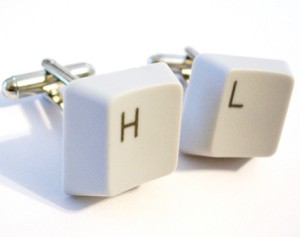 Computer Key Cufflinks