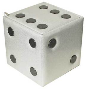 Lucky Dice Storage Cube