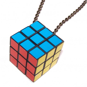 Rubik's Cube Necklace