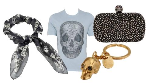 McQueen Skull Items