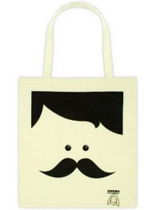 Mr Moustache Tote Bag