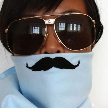 Moustache Bandana