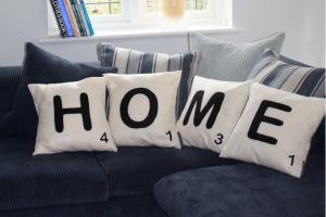 Scrabble Cushions